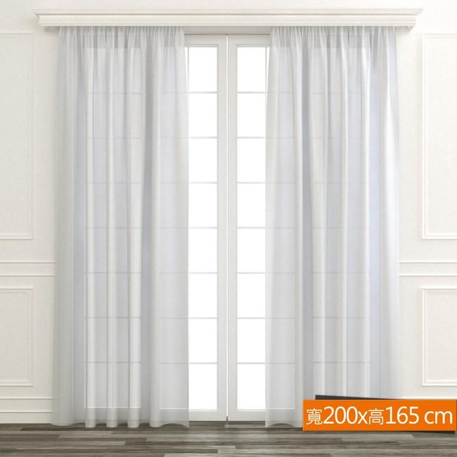 直條百搭抗UV窗纱 寬200x高165cm