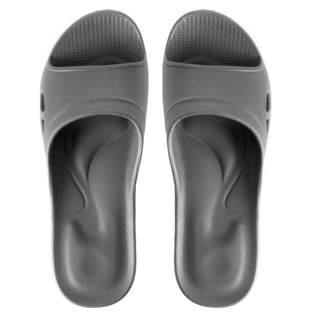 嚴選Q彈家居拖鞋 灰色 L尺寸
