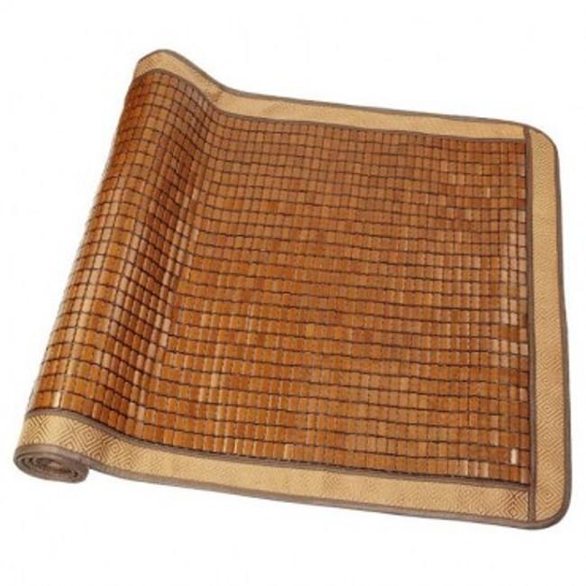 涼感碳化麻將竹雙人蓆150X186