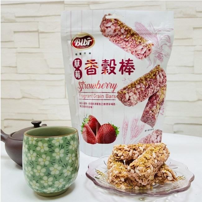 【柏麗貝爾】香穀棒(可可、草莓)130g(10支入)任選6包組草莓