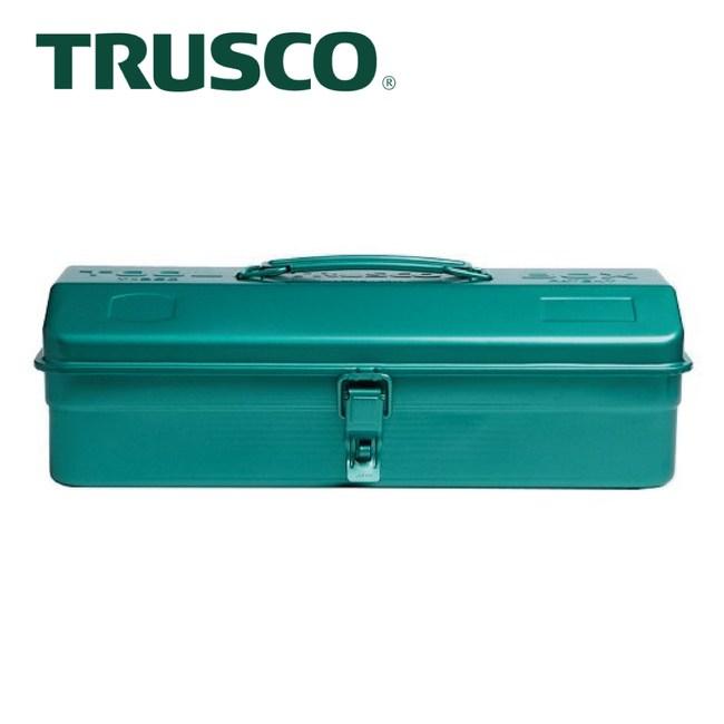 【Trusco】山型單層工具箱-銅綠