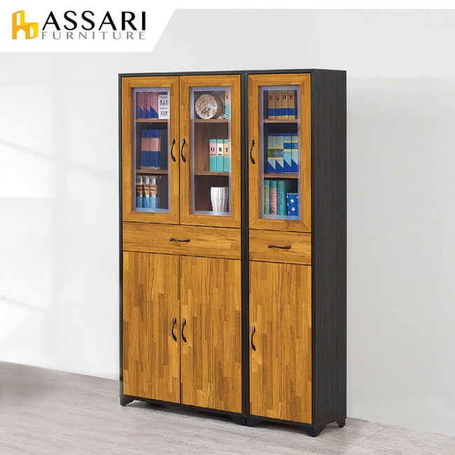 ASSARI-海灣2.6尺書櫃(寬79x深30x高187cm)