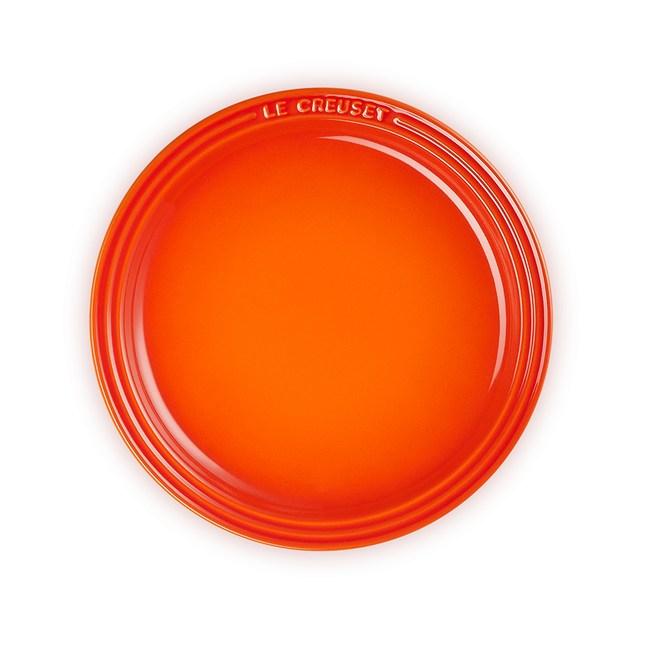 Le Creuset圓盤 23cm-火焰橘