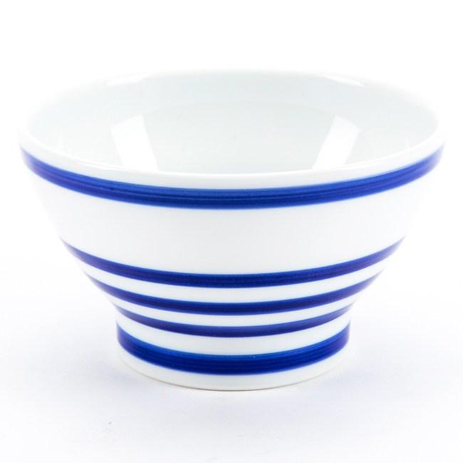 日本 有田燒碗 12cm 圓圈藍