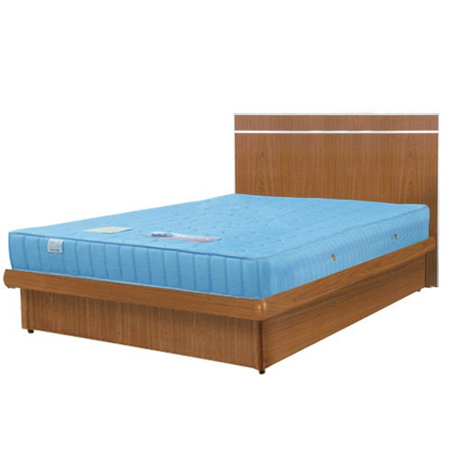 【Homelike】麗緻3.5尺掀床組-單人掀床(四色可選)柚木紋