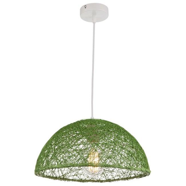 蘿莎半圓綵球單吊燈 綠色款