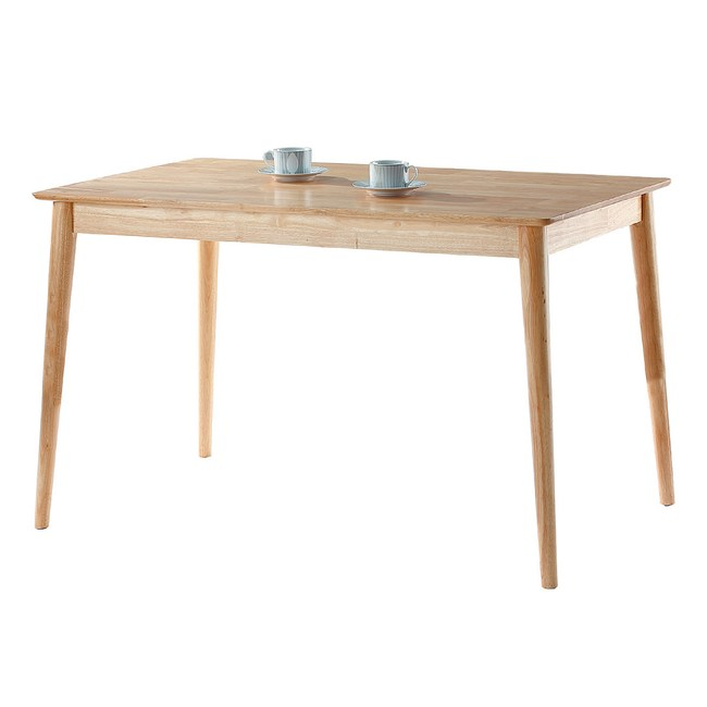 【YFS】巴德本色4尺餐桌-120x75x75cm