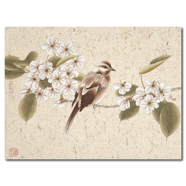 24mama掛畫-單聯式 無框畫 客廳裝飾 鳥 30x40cm