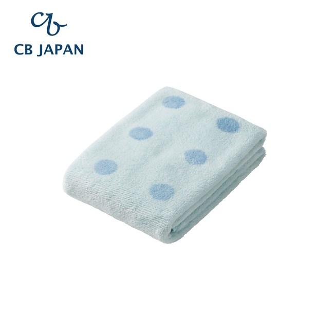 CB Japan 點點系列超細纖維3倍吸水毛巾(2入)甜心藍