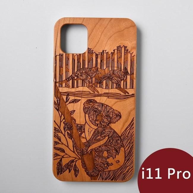 Woodu 木製手機殼 萌系無尾熊 iPhone 11 Pro適用