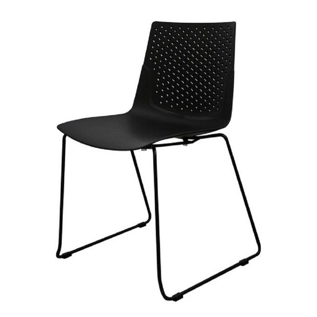 【YOI傢俱】魯瓦餐椅-黑