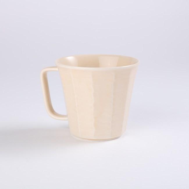 日本愛卡輕量馬克杯300ml淡黄