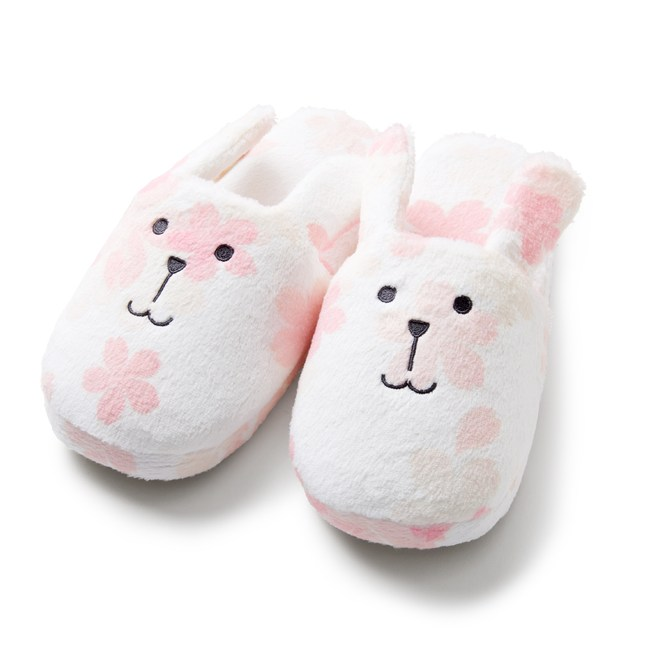 CRAFTHOLIC 宇宙人 日本櫻花兔室內拖鞋