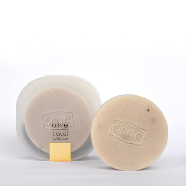 【歐瑞克】隨行皂盒超值組─沐浴專用 (香草牛奶糖)