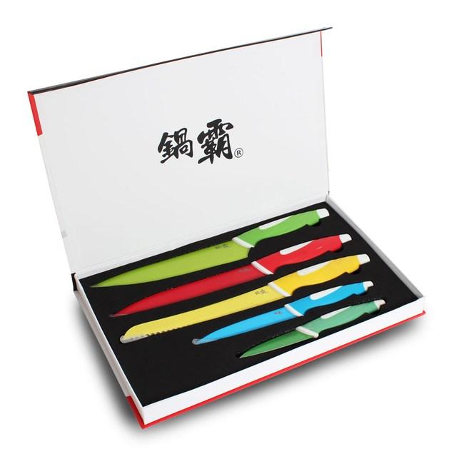 鍋霸 繽紛五件刀具組