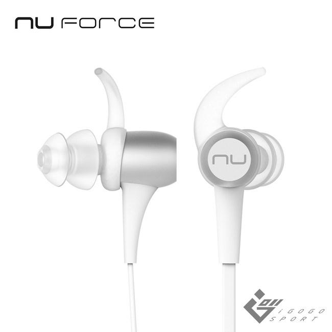 NuForce BE Sport3 運動藍牙耳機銀色