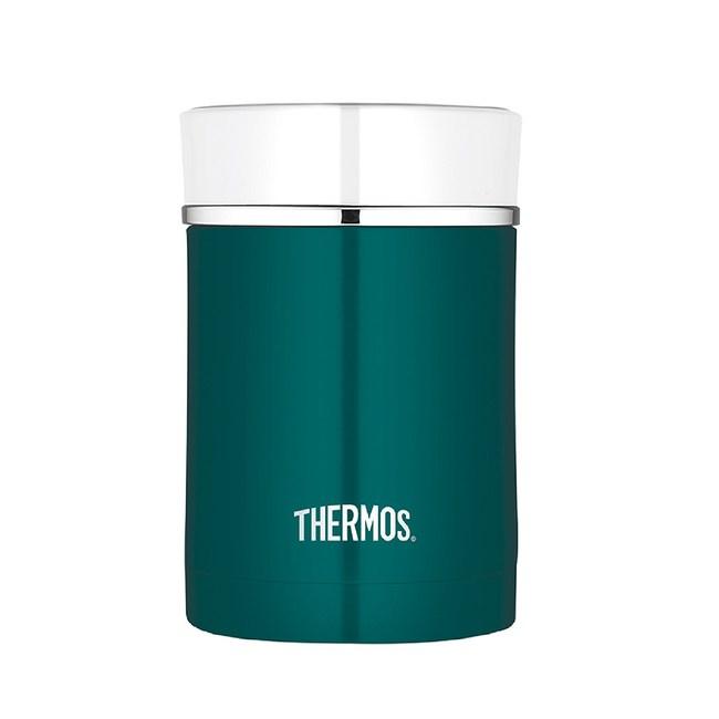 膳魔師不銹鋼真空保溫食物罐 藍綠色