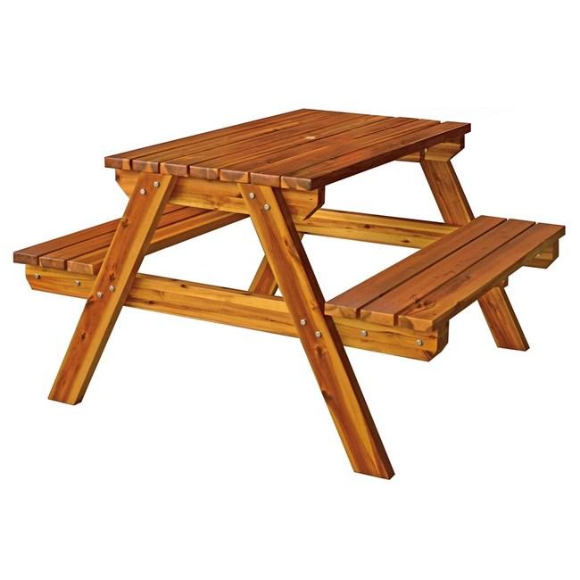 實木啤酒桌椅組(小)