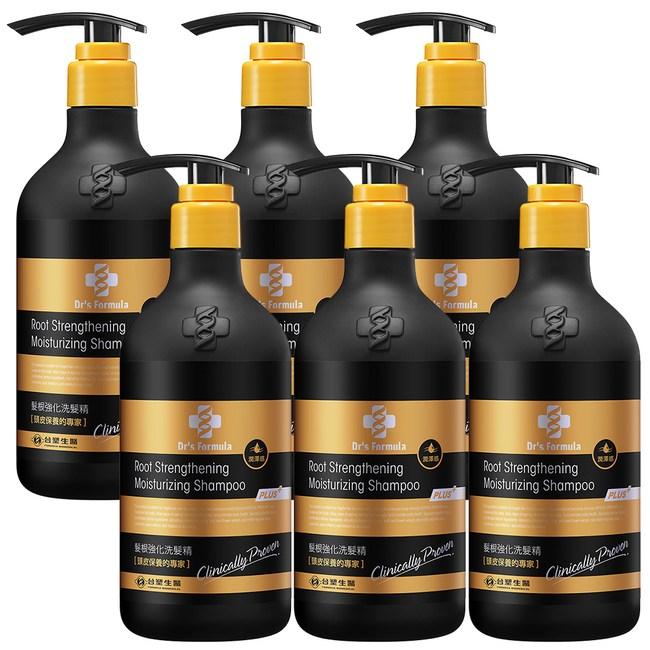 《台塑生醫》髮根強化洗髮精-潤澤感(升級版)580g*6入