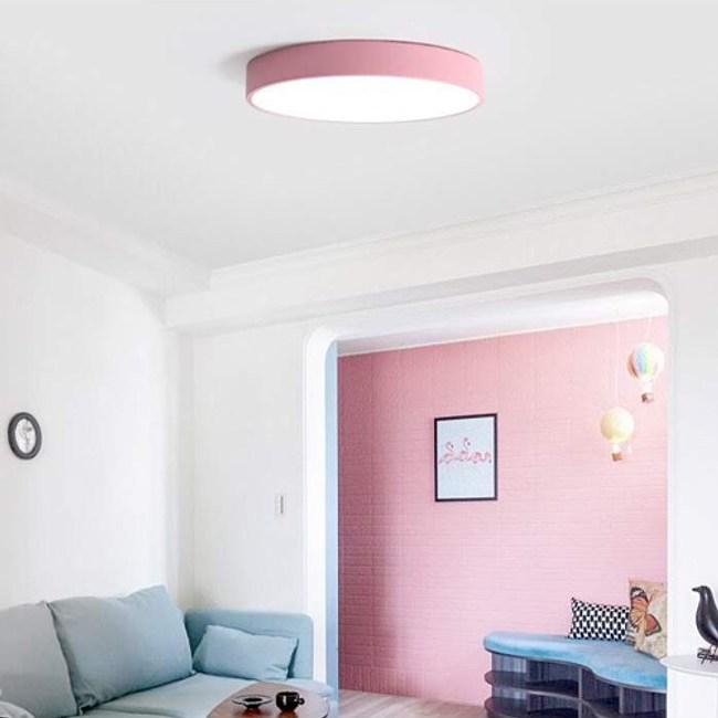 YPHOME 適用4-5坪馬卡龍LED60W智能遙控吸頂燈 PN0262438-5