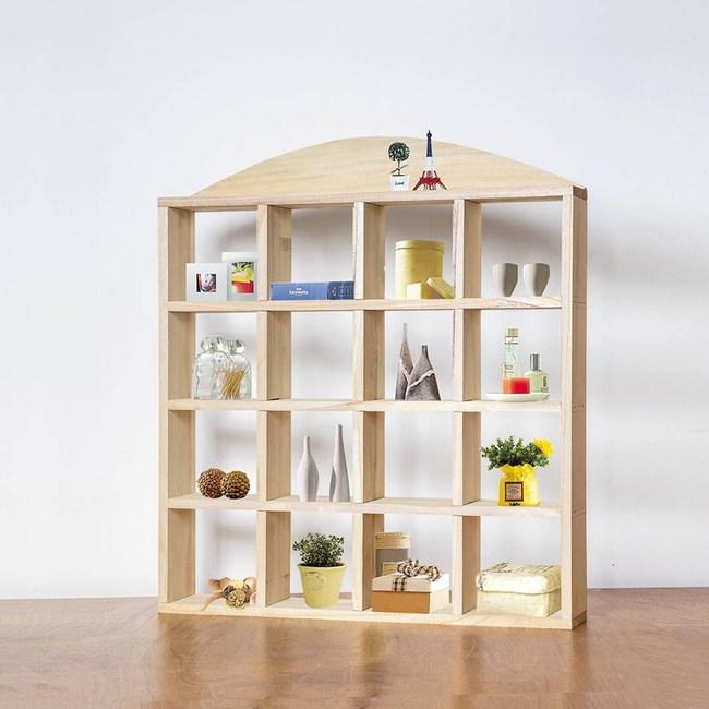 DIY材料包-椴木16宮格置物架
