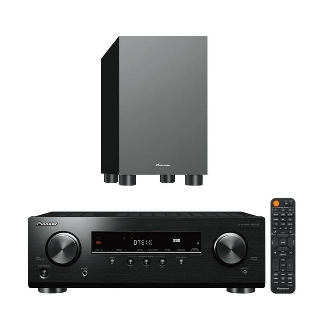 Pioneer VSX-326 AV環繞擴大機+S-13W 重低音喇叭