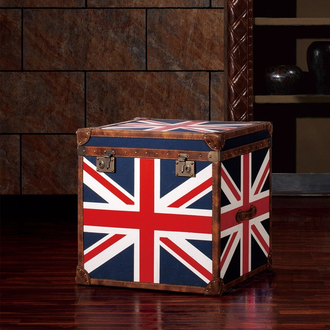 【MUSE】Cleveland克利夫蘭復古英倫國旗收藏箱