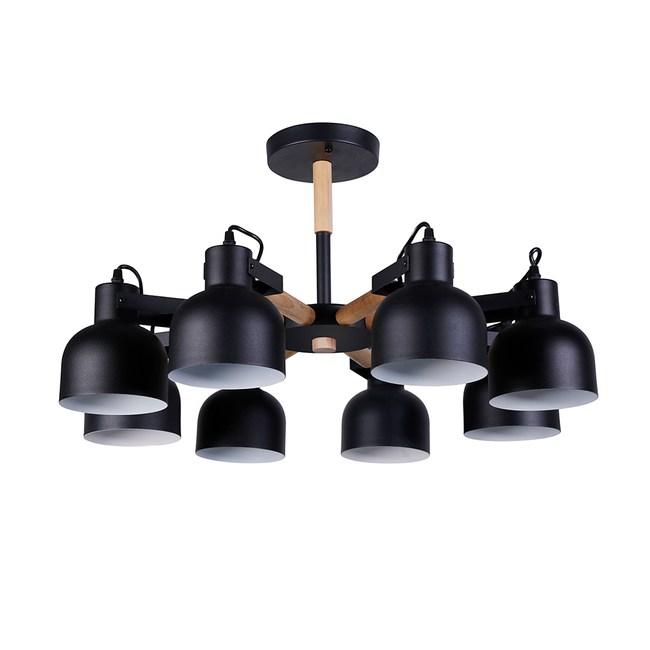 特力屋利奧8燈半吸頂燈