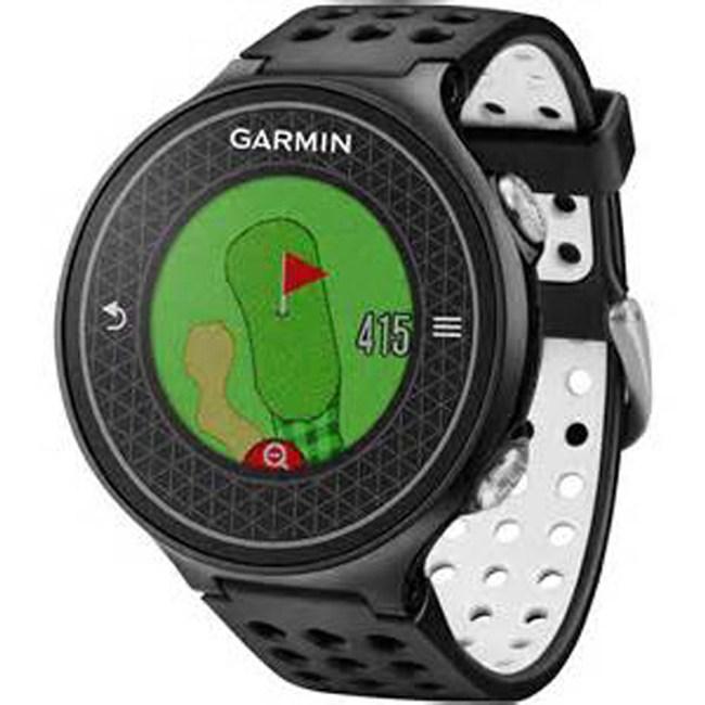 Garmin首支極輕薄中文高爾夫球GPS腕錶Approach S6主機黑色