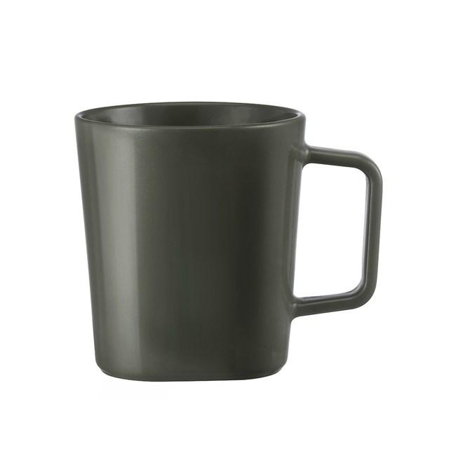 TOAST DRIPDROP 陶瓷馬克杯250ml-墨綠