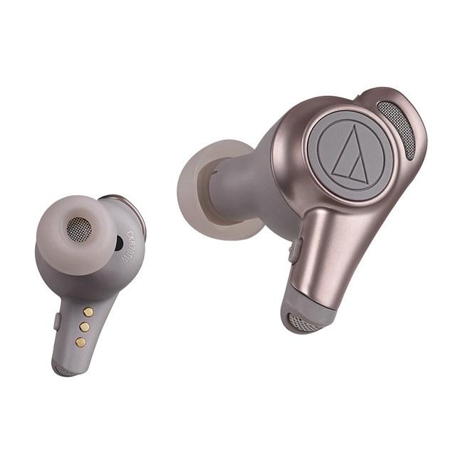鐵三角 ATH-CKR70TW 真無線耳機【共2色】米色