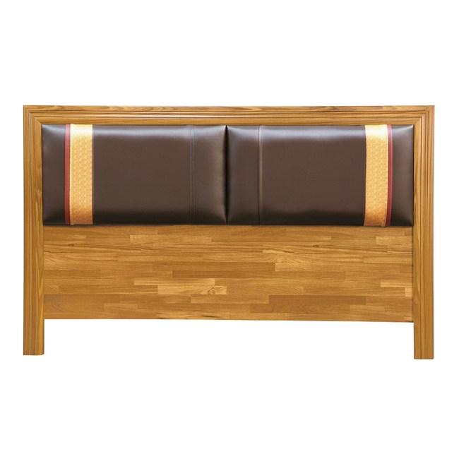【YFS】諾曼5尺集成木床頭片-154x2x93cm
