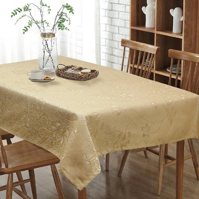 【三房兩廳】金藤蔓桌巾-120X120cm