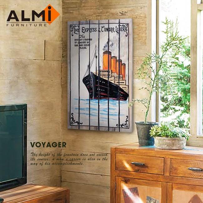 【ALMI】VOYAGER 60x100 木板畫( 7款可選)LMS