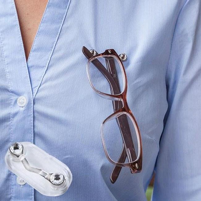 READEREST 磁吸式眼鏡架 - 奢華水晶款