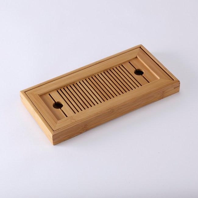 品茗竹茶盤28cm