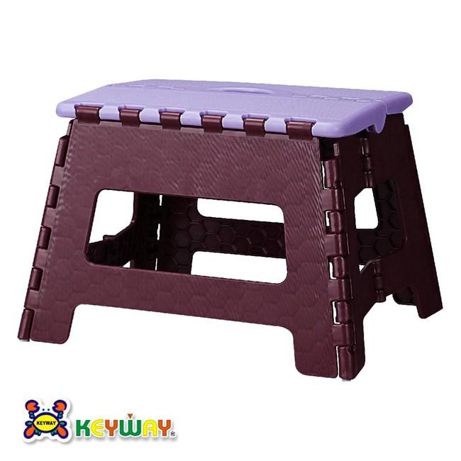 KEYWAY 休閒摺合椅 紫色款 PP-0115