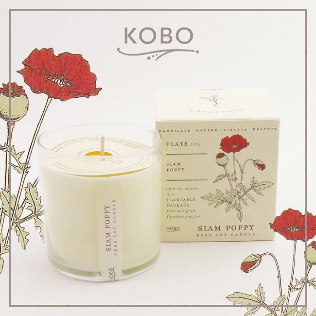 【KOBO】美國大豆精油蠟燭 - 迷情美人-280g/可燃燒60hr
