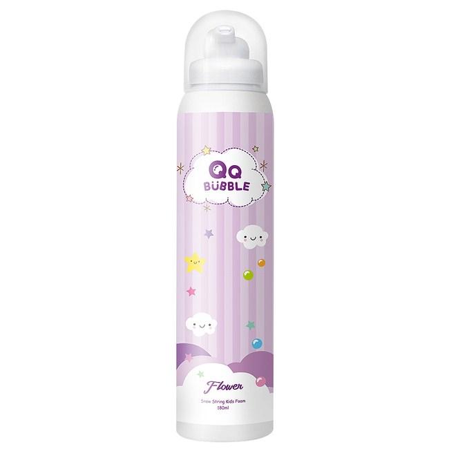 QQ Bubble 神奇好玩魔法沐浴泡泡慕斯~花香泡泡紫