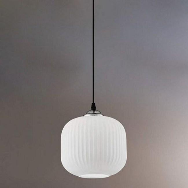 YPHOME 白玉玻璃單吊燈 FB37454