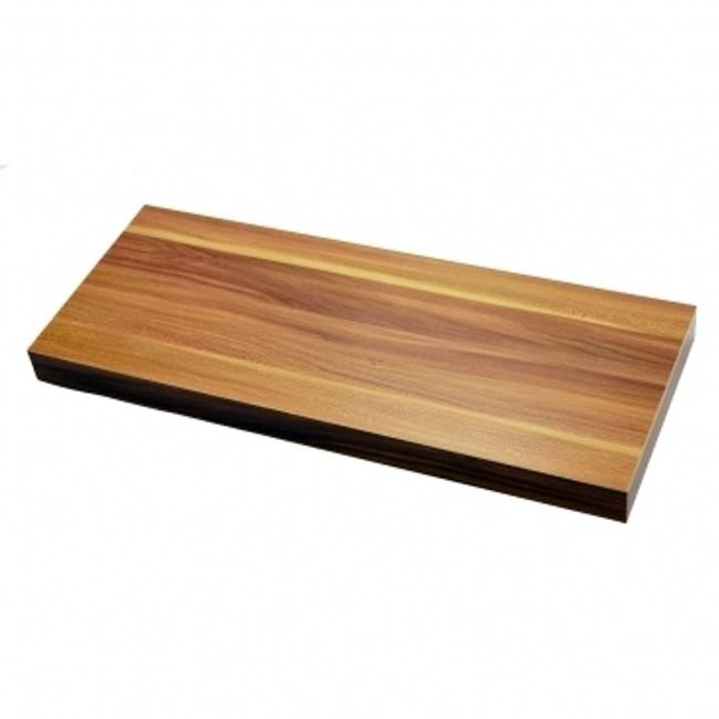 特力屋超厚棚板附托架-蘋果木色W120