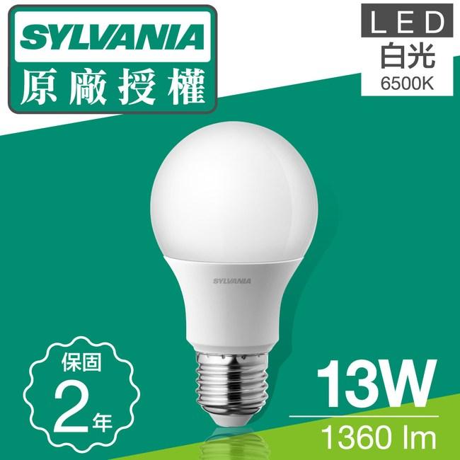 喜萬年SYLVANIA 13W LED 燈泡 白光6500K 20入