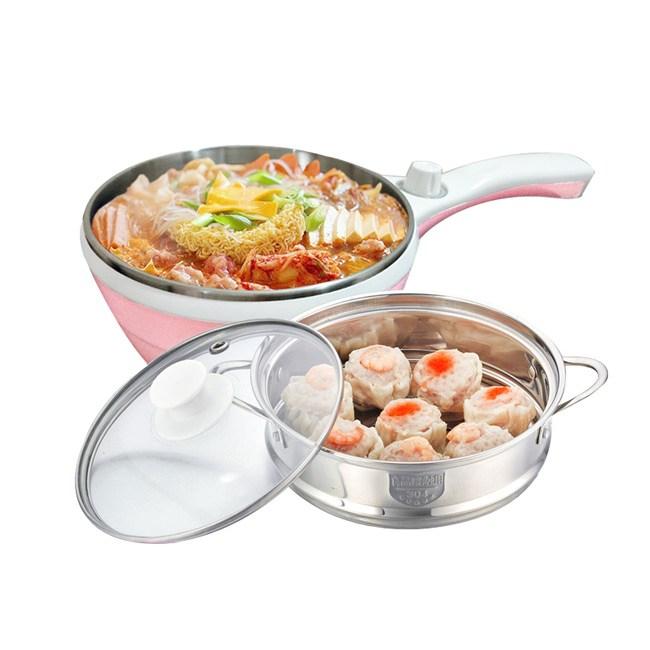 Dowai多偉1.5L蒸健康料理鍋(含蒸籠) EC-150甜蜜粉