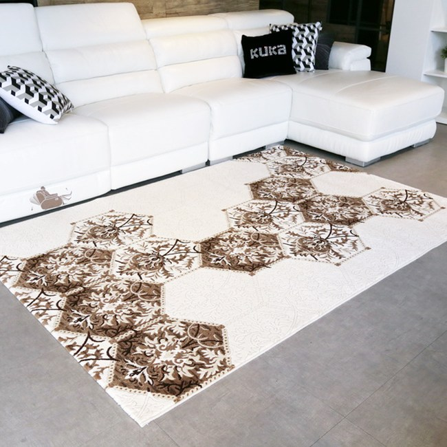 【YFS】耐磨高透氣親膚地毯-米羅200x290cm