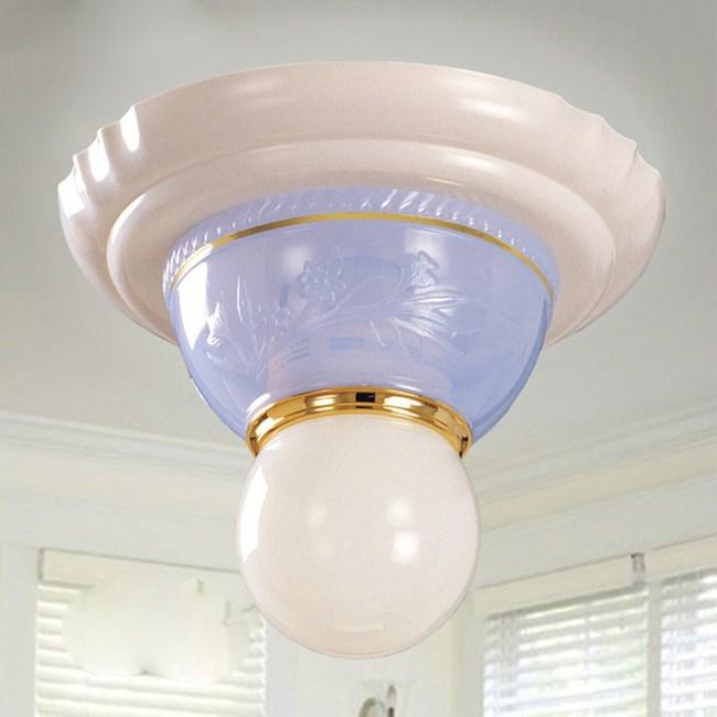 【光的魔法師 Magic Light】安卡拉吸頂單燈(粉藍色)