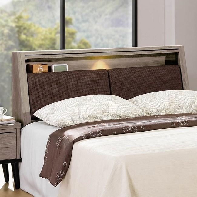 【obis】古橡木6尺床頭箱(古橡木 6尺 床頭箱)古橡木色