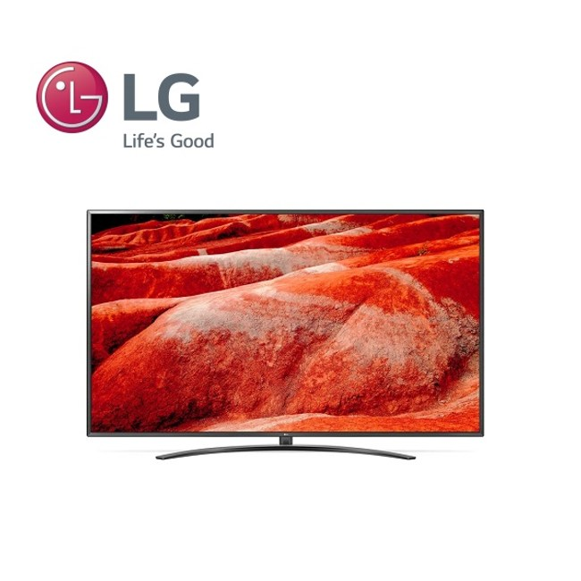 (含基本桌上安裝)LG 55型4K物聯網電視 55UM7600PWA
