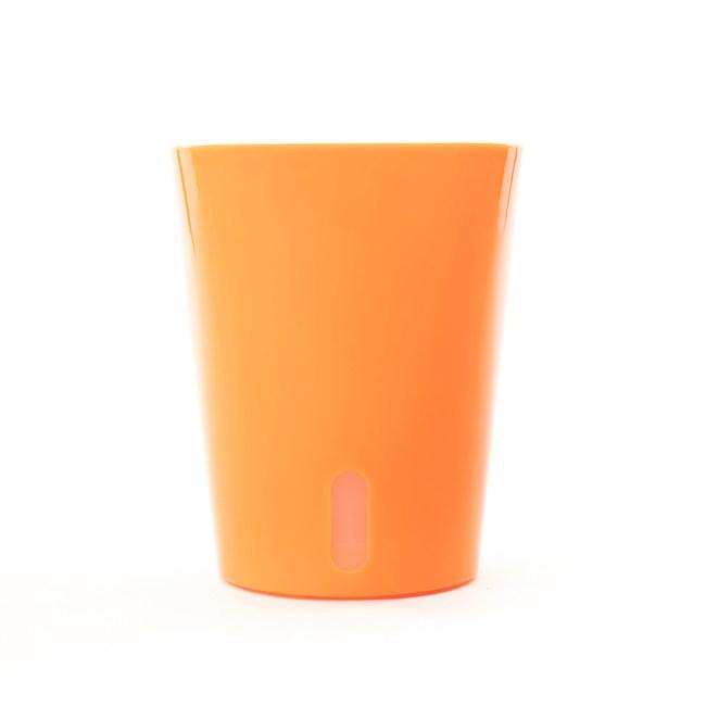 自動吸水盆-橘色15.5CM