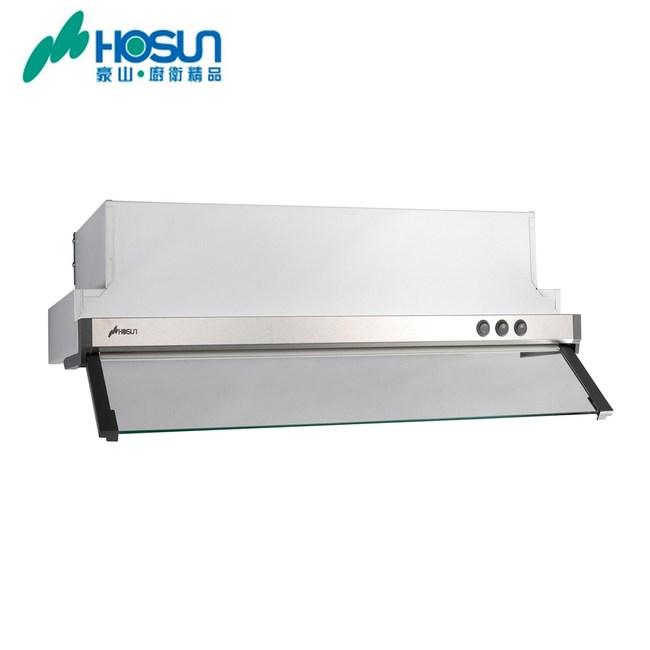 【豪山HOSUN】(隱藏式烤白排油煙機 VEQ-6158P-60CM