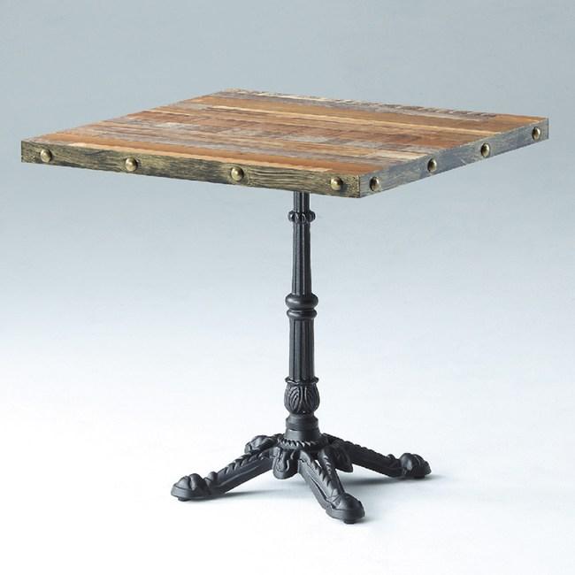 【YFS】格拉斯四方餐桌-66x66x75cm
